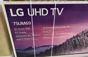 LG серии 75 дюймов LED UM6970PUB Series 2160p Smart 4K UHD с HDR